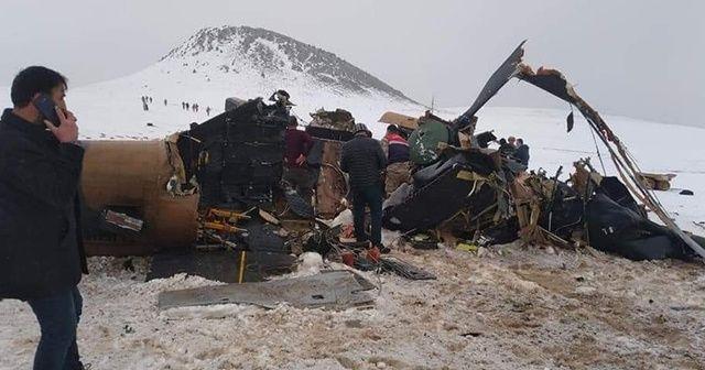 Helikopter kazasının detayları belli oldu