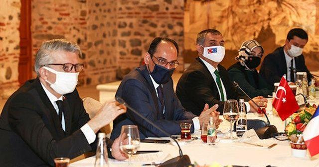 İbrahim Kalın, AB'nin Dış Politika danışmanlarıyla görüştü