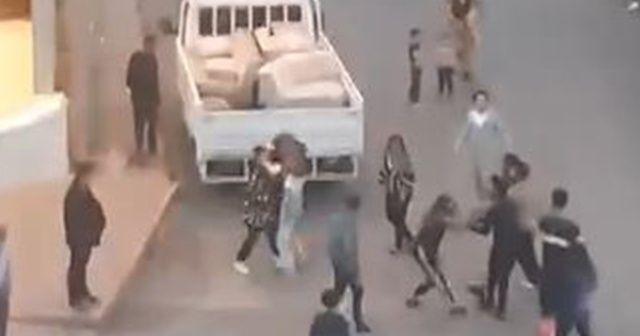 İki grubun sokak kavgası