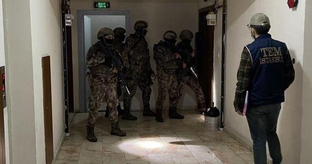 İstanbul'da 11 ilçede DEAŞ'a yönelik operasyon