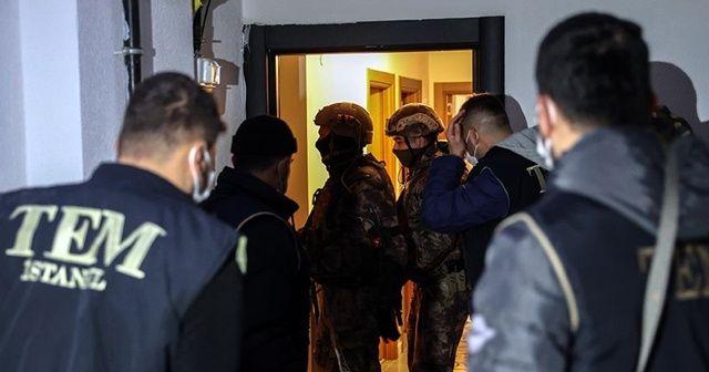 İstanbul'da terör örgütü DEAŞ'a operasyon: 18 gözaltı