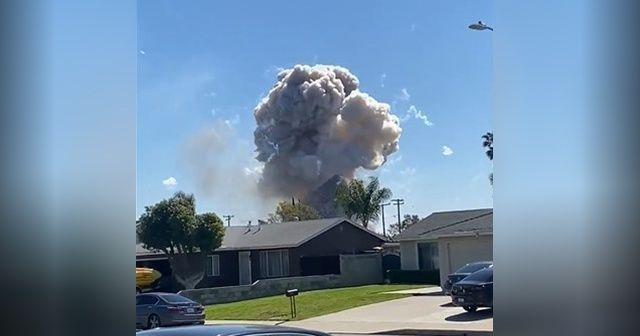 Kaliforniya'da havai fişeklerle dolu evde patlama