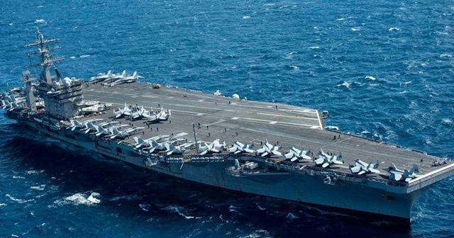 Miçotakis, Girit'te bulunan ABD uçak gemisini ziyaret etti