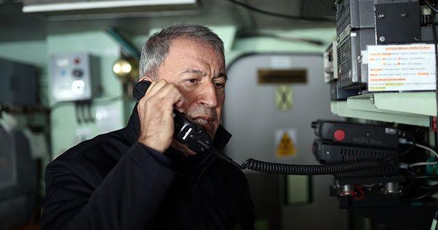 Milli Savunma Bakanı Hulusi Akar'dan Mısır mesajı
