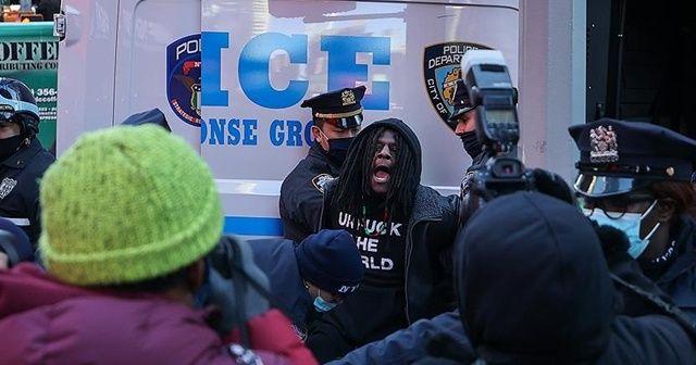 New York'ta olaylı 'Trump' gösterisi