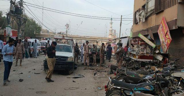 Pakistan'da patlama: 1 ölü, 12 yaralı