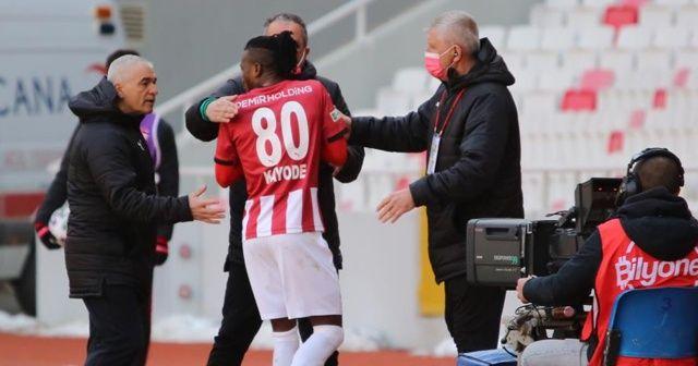 Sivasspor'da Kayode'den şok tepki!
