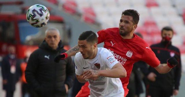 Sivasspor ile Hatayspor yenişemedi