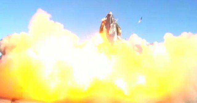 SpaceX'e şok! Starship infilak etti