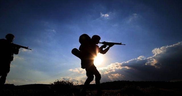 Taciz ateşi açan 2 PKK/YPG'li terörist öldürüldü