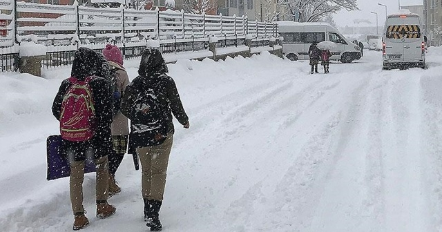Yozgat'ta eğitime kar tatili