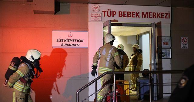 Zeynep Kamil Hastanesi'nde çıkan yangın söndürüldü