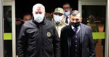 Bakan Akar'dan helikopter kazasına ilişkin açıklama