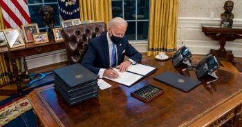 1,9 trilyon dolarlık destek paketini imzalayacak
