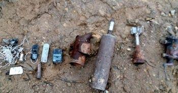 Bitlis'te PKK'lı teröristlerce kullanılan 9 odalı sığınak imha edildi
