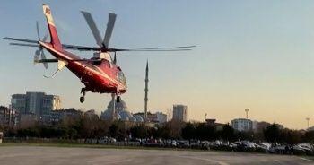 Bitlis'teki kazada yaralanan asker İstanbul'a getirildi