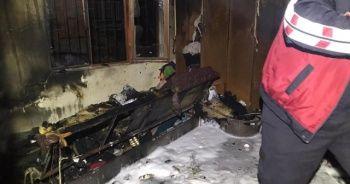 Bucak'ta yangın: 7 kişi dumandan etkilendi
