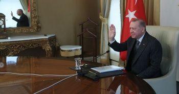 Cumhurbaşkanı Erdoğan AB Komisyonu Başkanı ile görüştü