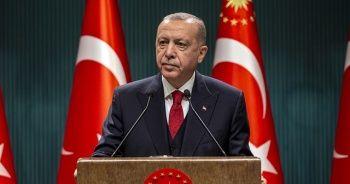 Cumhurbaşkanı Erdoğan, şehitlere Allah'tan rahmet diledi