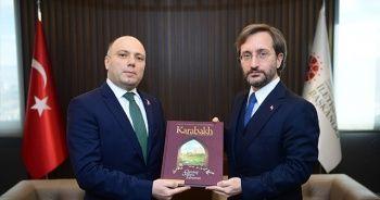Fahrettin Altun, Azerbaycan Kültür Bakanı Anar Kerimov ile görüştü