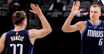 Dallas Mavericks 'triple-double' yapan Doncic ile kazandı