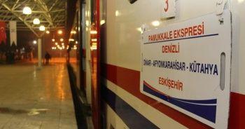 Denizli'de tren seferleri yeniden başlıyor