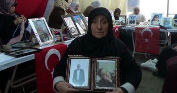 Diyarbakır'daki evlat nöbetine katılan Nazime Arslan Hakkari'de