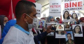 Evlat nöbetindeki ailelerden Almanya'da eylem yapan Maide Türemiş'e destek