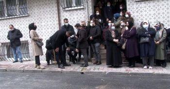 İcraya gittiği evde öldürülen avukat son yolculuğuna uğurlandı