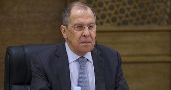 Lavrov: Türkiye ile ilişkilere değer veriyoruz