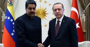 Maduro'dan Türkiye'ye Kovid-19 yardımları için teşekkür