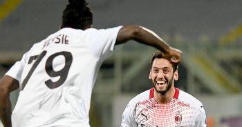 Milan'da galibiyet golü Hakan Çalhanoğlu'ndan
