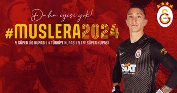 Fernando Muslera, 2024'e kadar Galatasaray'da