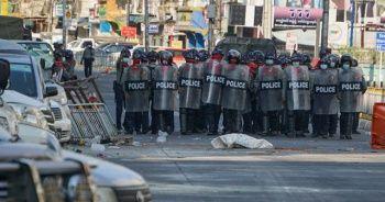 Myanmar'da darbe karşıtı gösterilerde 6 kişi öldü