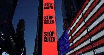 """New York Times Meydanı'nda """"Gülen'i durdurun"""" ilanı"""