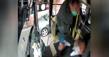 Otobüs sürücüsünü darp ederek kaçan şahıs gözaltına alındı