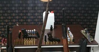 Silah kaçakçılığı operasyonunda 4 tutuklama