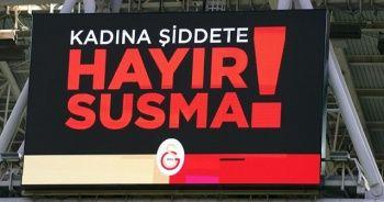 Türk Telekom Stadyumu'nda 8 Mart Kadınlar Günü mesajları