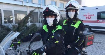 Türkiye'nin en hızlı hayat kurtaran kadınları iş başında