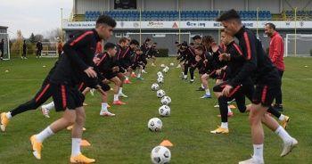 Ümit Milli Futbol Takımı'nda, Sırbistan maçı hazırlıkları tamamlandı