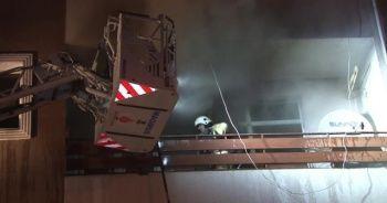 Üsküdar'da ev yangını: 1 kişi ağır yaralandı