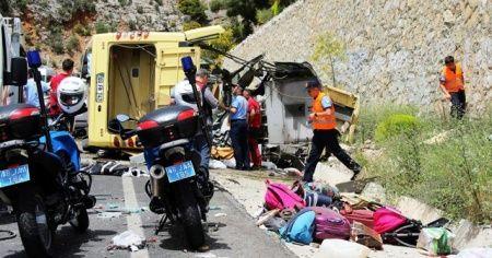 24 kişinin öldüğü kazada araç sürücüsüne 18 yıl 9 ay hapis