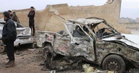 Afrin'de bombalı terör saldırısı: 1 ölü, 3 yaralı