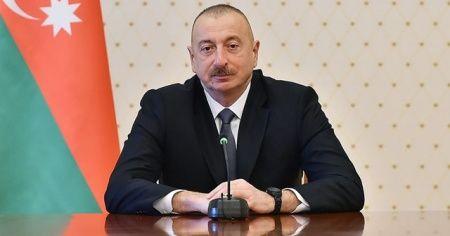 Aliyev'den şehitler için taziye mesajı