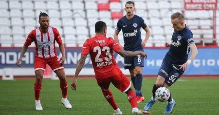 Antalyaspor ve Kasımpaşa puanları paylaştı