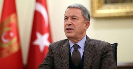 Bakan Akar, Bosna Hersek Savunma Bakanı Podzic ile görüştü