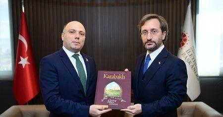 Fahretin Altun, Azerbaycan Kültür Bakanı Anar Kerimov ile görüştü