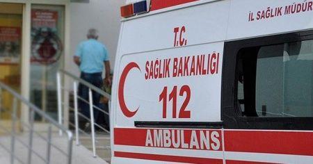 Damdan düşen 9 aylık hamile kadın ağır yaralandı
