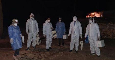 Diyarbakır'da bir mezra, mutasyonlu virüs nedeni ile karantinaya alındı
