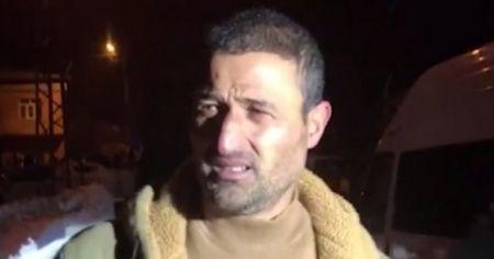 Düşen helikopterdeki yaralı askerlerin yardımına koşan köylü, o anları anlattı